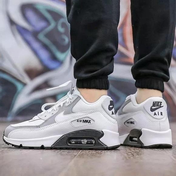 253c4fac2ca2 Women s Nike Air Max 90 White + Black Sneakers